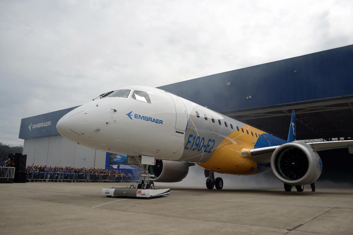 La norvégienne Wideroe passe chez Embraer