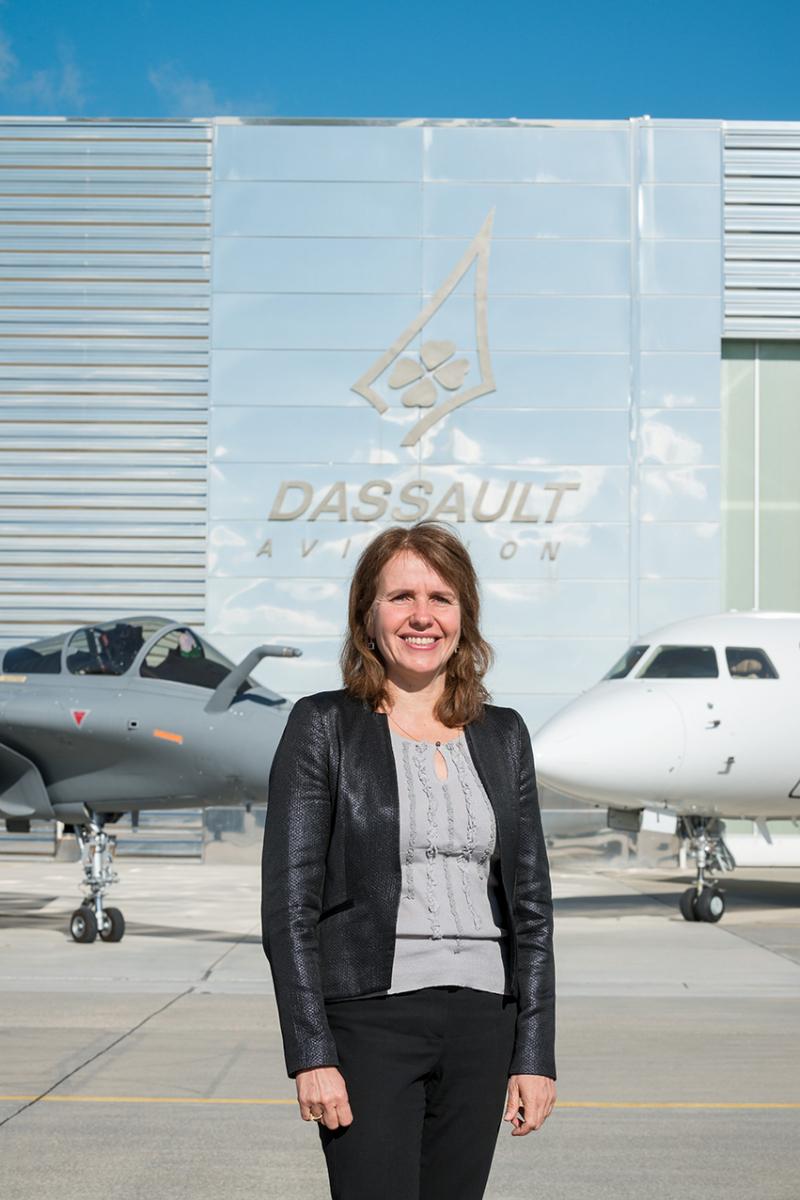 Valérie Guillemet devient directrice des Ressources humaines de Dassault Aviation