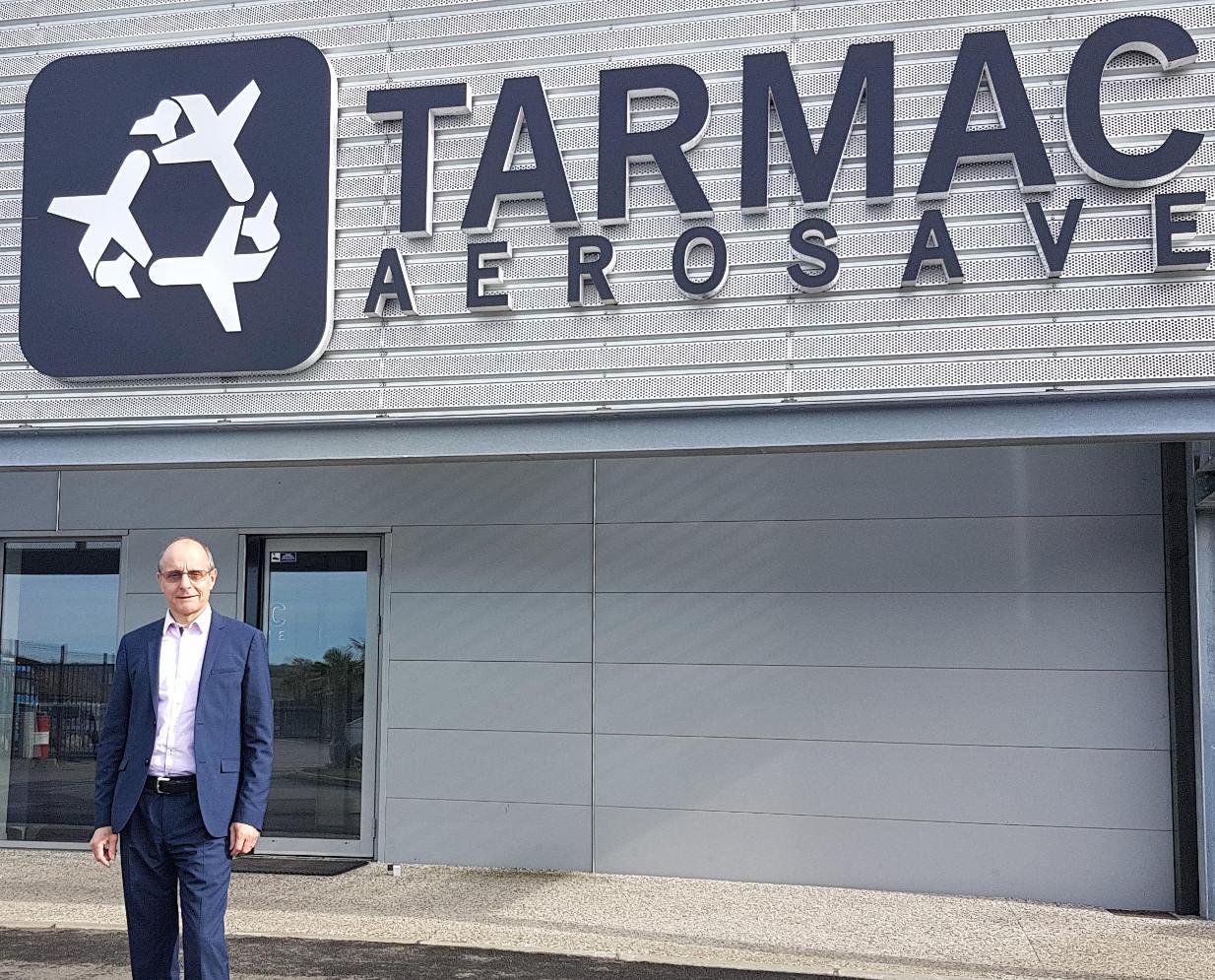 Patrick Lecer aux commandes de Tarmac Aerosave