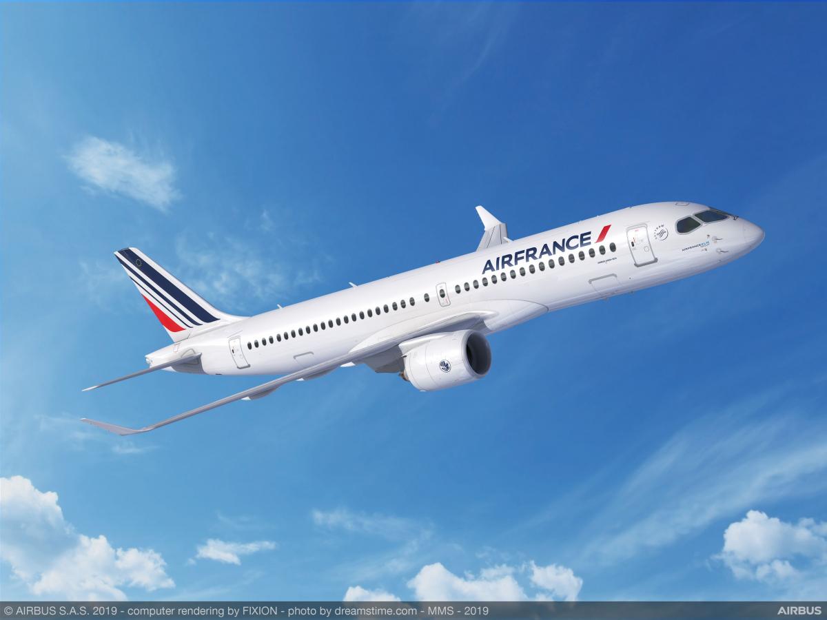 Air France-KLM veut acquérir 160 moyen-courriers de plus