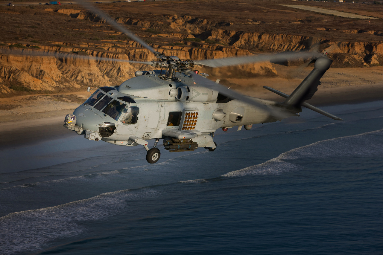 Sikorsky livrera à l'Arabie Saoudite ses MH-60R en 2018