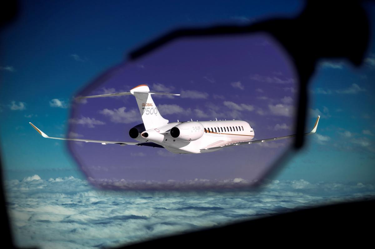 Bombardier livre son 50ème Global 7500