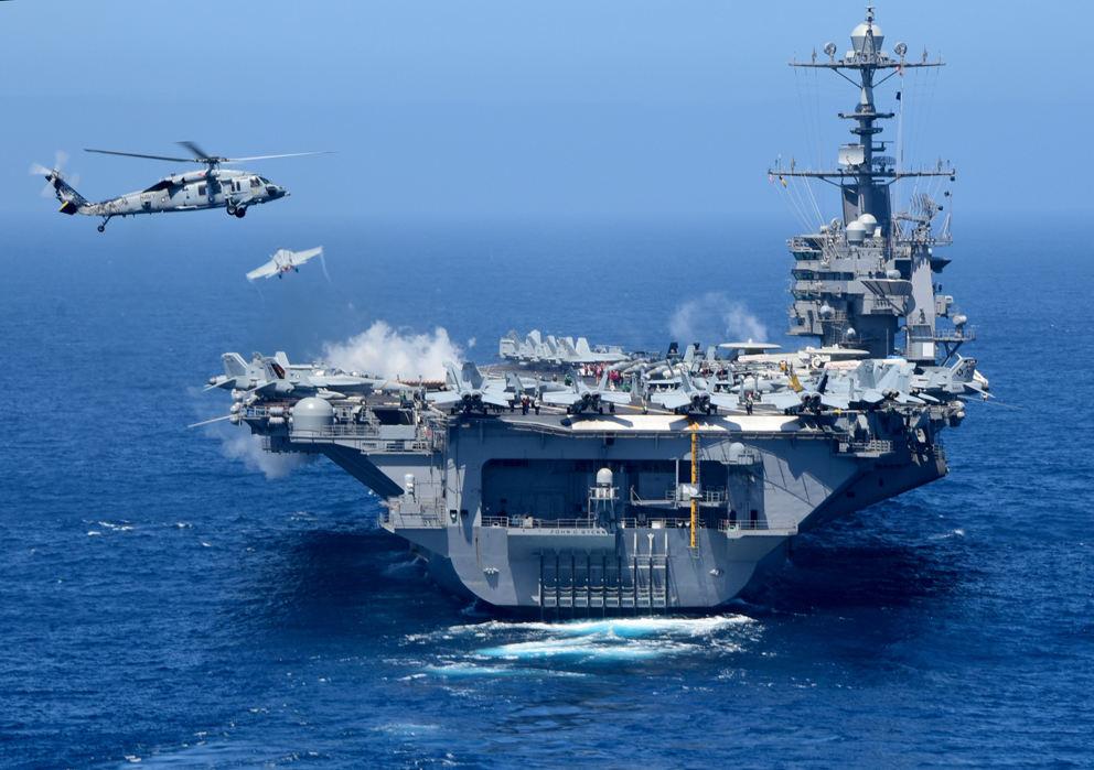 Les mers du globe vides... de porte-avions américains !