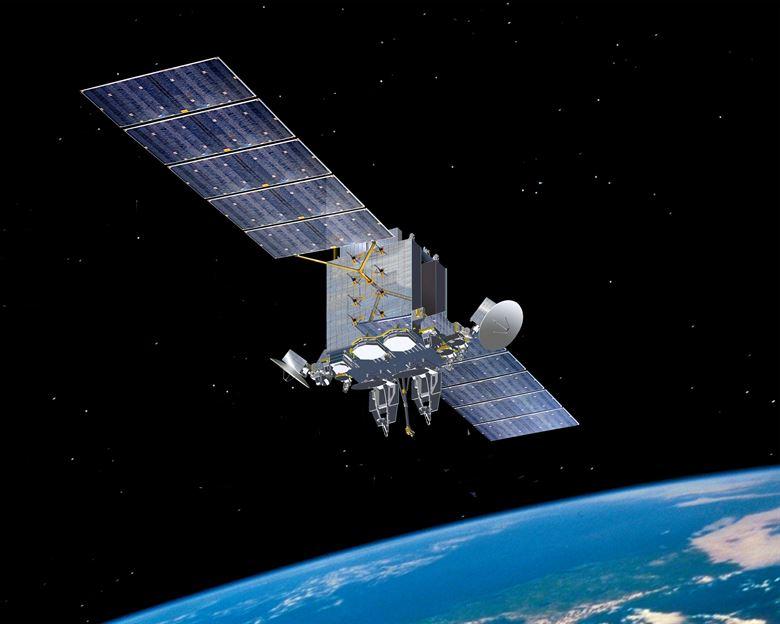 Module anti-brouillage pour satellites militaires