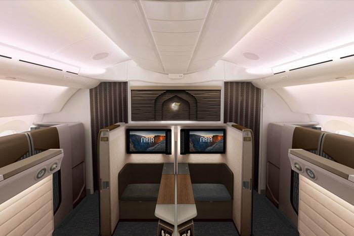 Oman Air unveils mini-suite