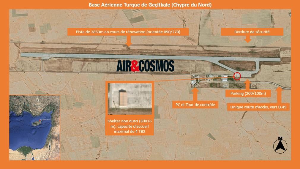 La Turquie déploie ses drones à Chypre