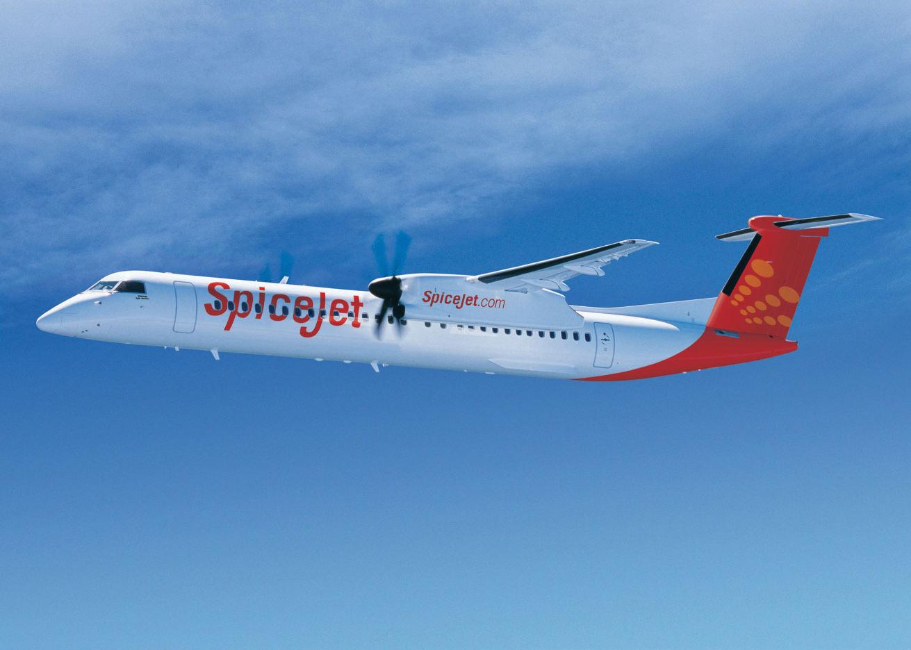 SpiceJet réceptionne son premier Bombardier Q400 à 90 sièges