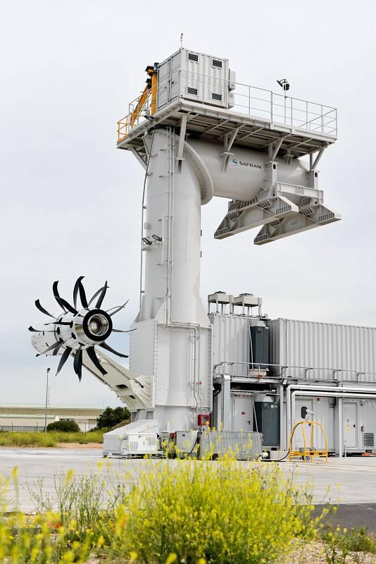 Safran starts Open Rotor tests