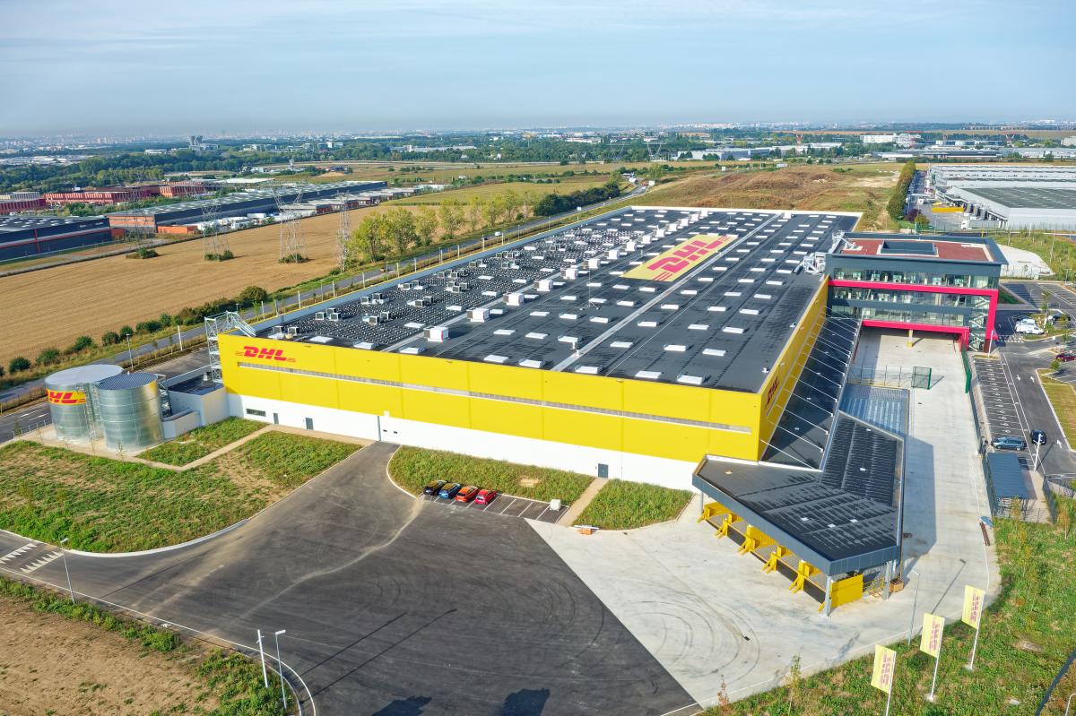 DHL Express inaugure son nouveau hub à Paris-CDG