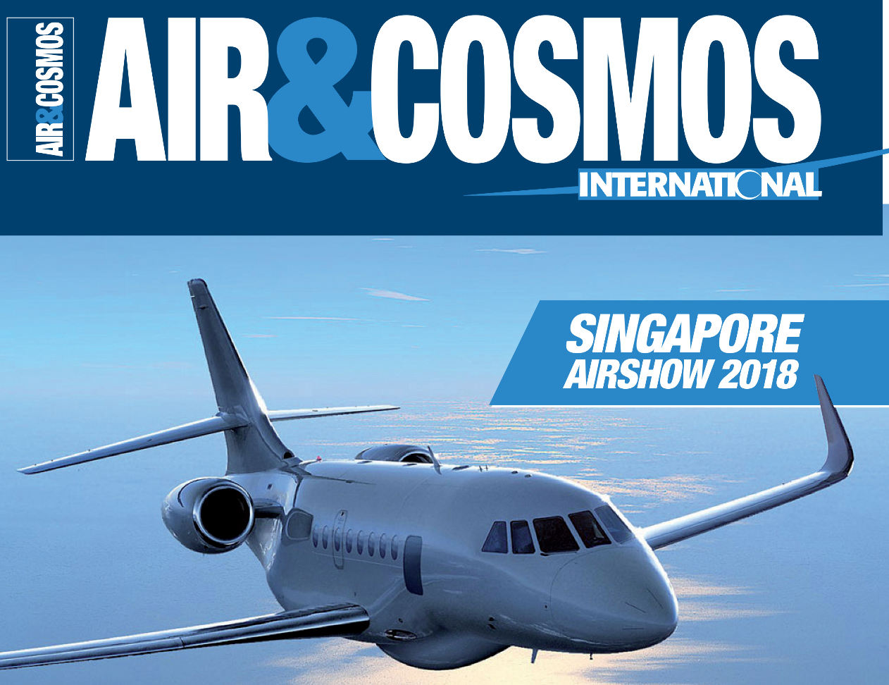 Air&Cosmos International digital magazine will be launched on 23rd February, targeting continental Europe, Middle East and Asia