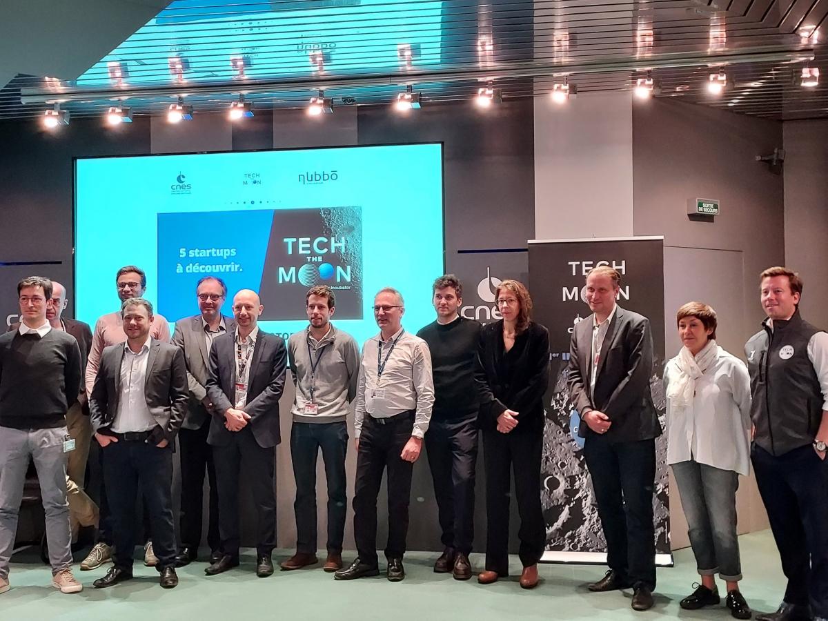 L'incubateur TechTheMoon intègre ses premières startups lunaires
