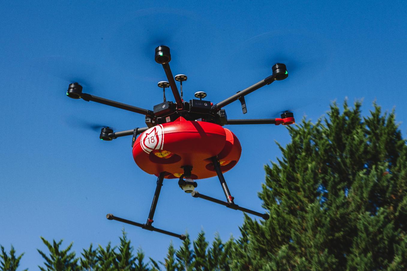 Eurosatory 2018 : à la découverte du drone pompier