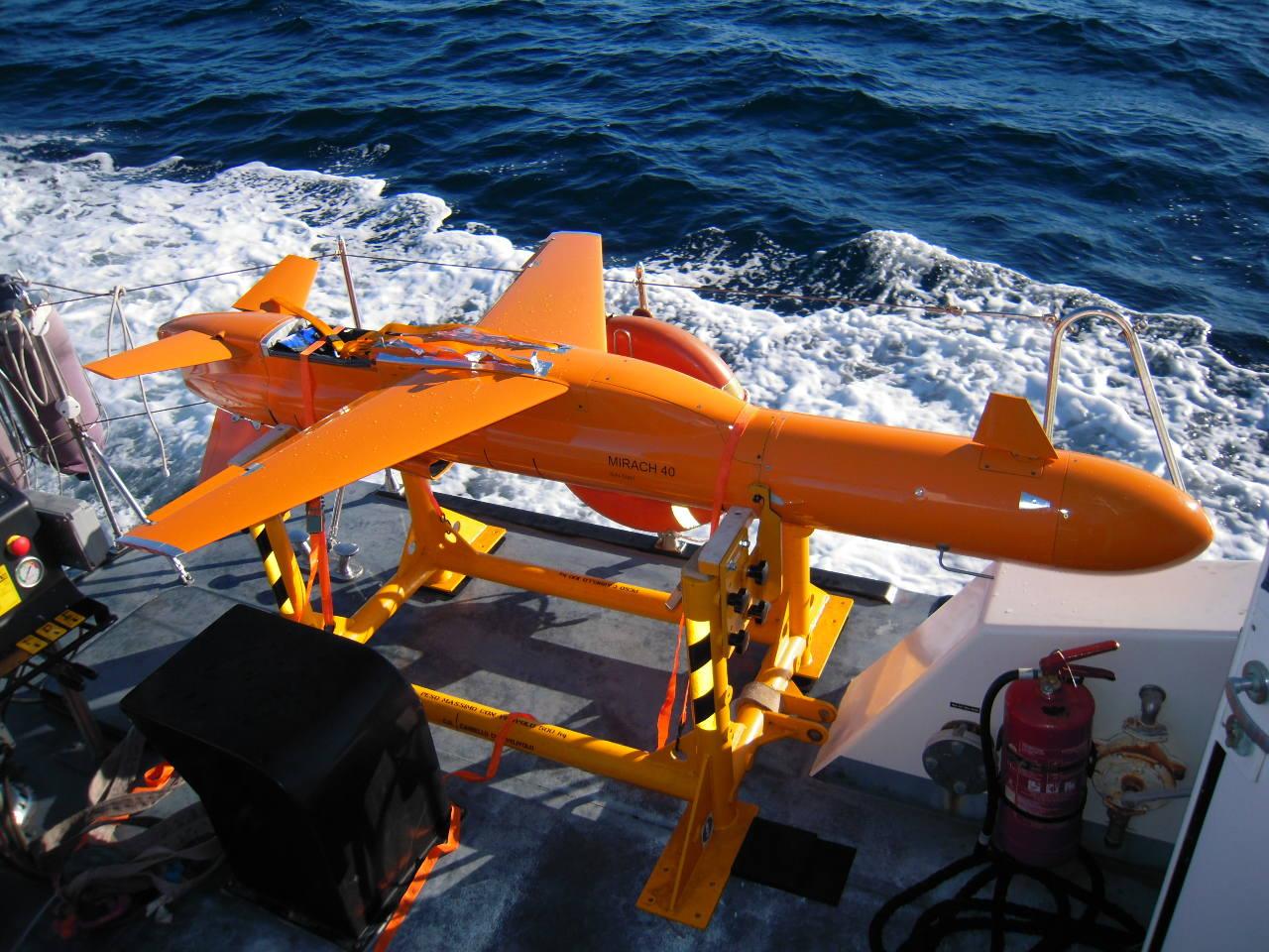 Première mission pour le drone M-40 de Leonardo