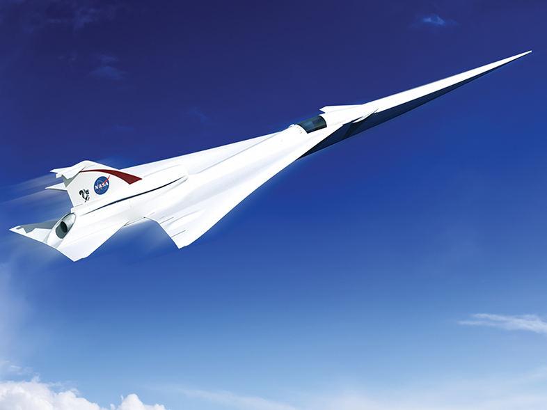 X-59, Lockheed Martin usine les premières pièces du démonstrateur supersonique