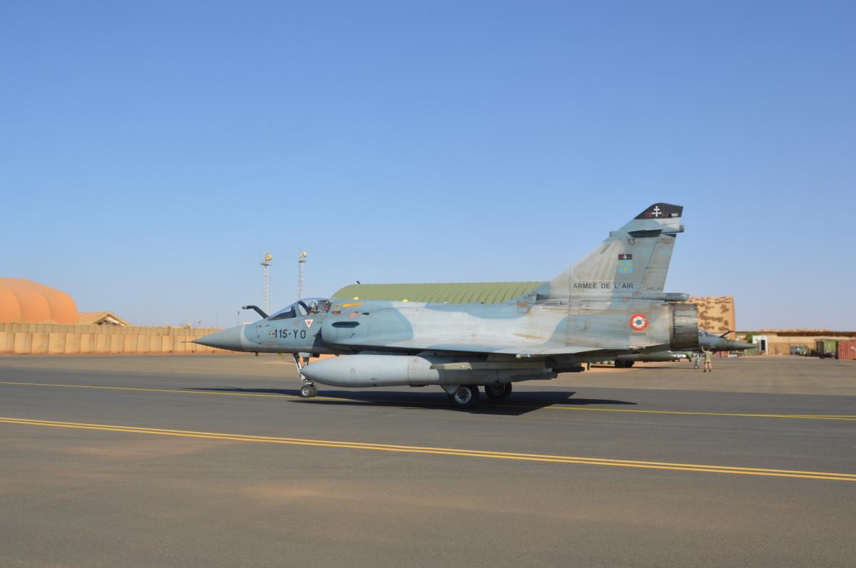 Les Dassault Mirage 2000C reviennent à Barkhane