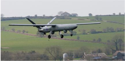 Les drones tactiques britanniques passent sous commandement hélicoptères