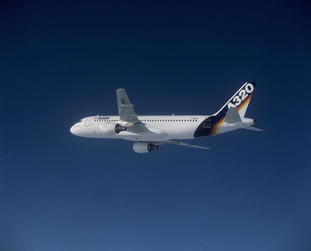L'Airbus A320 fête ses 30 ans