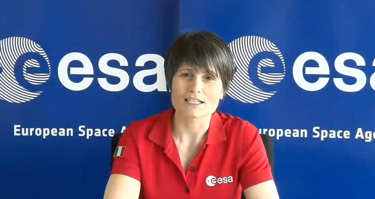 Nouvelle mission vers l'ISS pour Samantha Cristoforetti