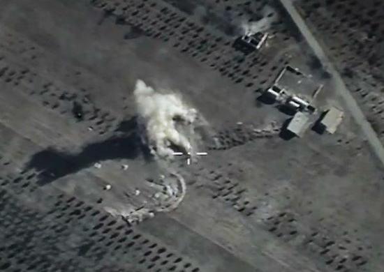 L'armée de l'air russe cible des terroristes en Syrie