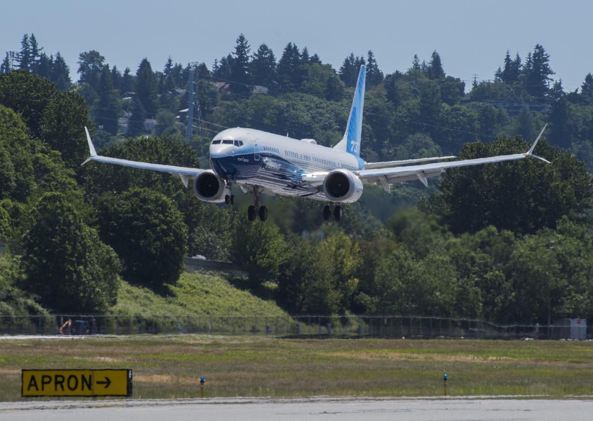 Boeing fait voler le 737 MAX-10