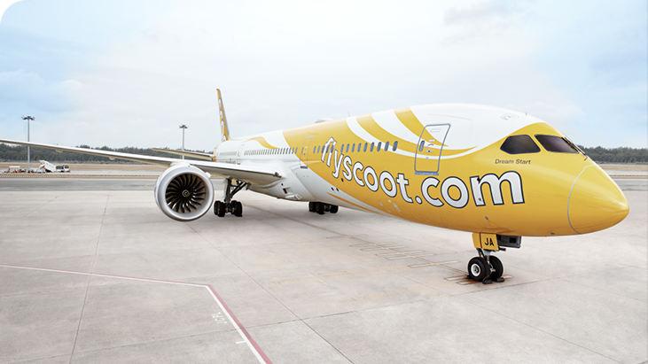 Scoot Airlines pas encore prête pour des vols Inde-Europe