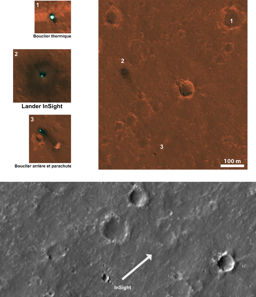 On a retrouvé la sonde InSight sur Mars !