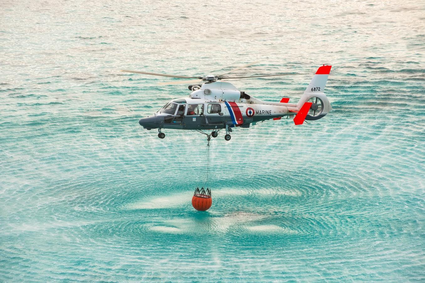 Dauphin N3+ : retour sur l'intégration d'une capacité bombardier d'eau
