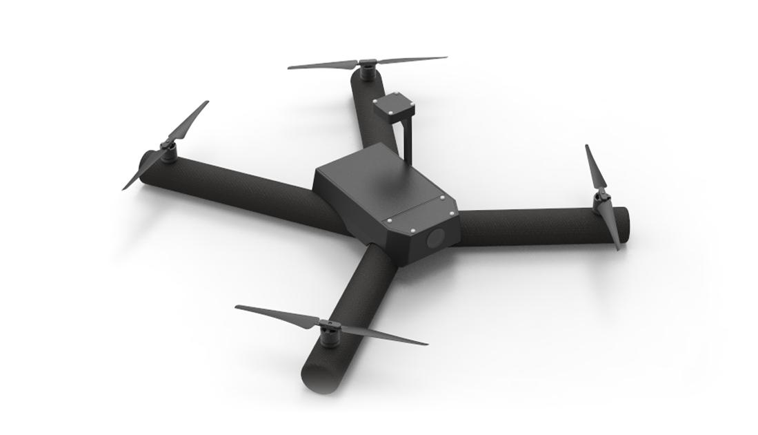 Milipol : le drone gonflable de Diodon
