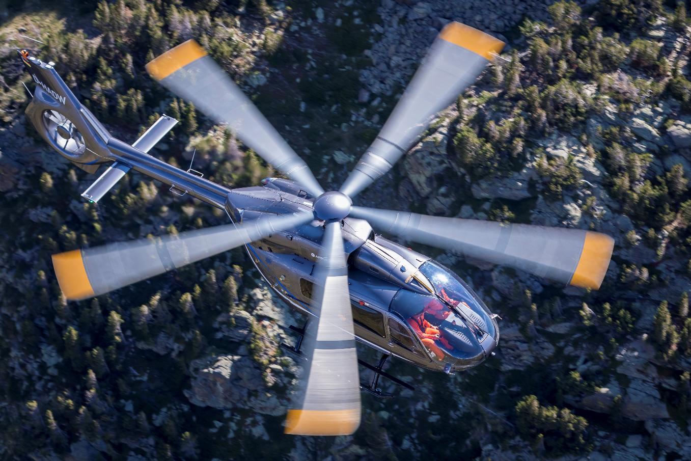 Airbus Helicopters dévoile la nouvelle version du H145