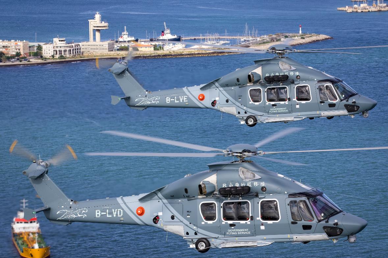 Livraison à Hong Kong des premiers H175 SAR