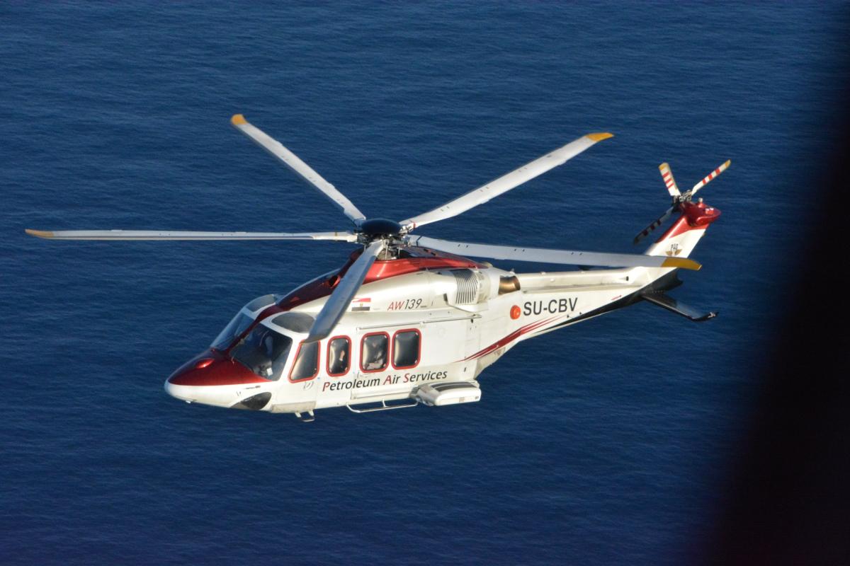 Dubai Airshow 2019: Leonardo vend un AW139 en Egypte