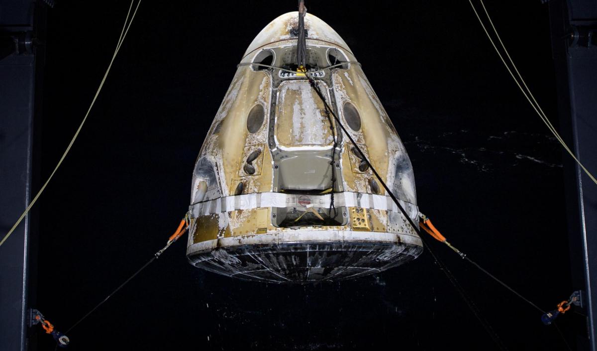 Fin de la mission Crew 1 de SpaceX