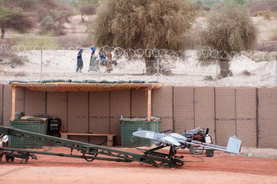 Un drone tactique suédois au Mali
