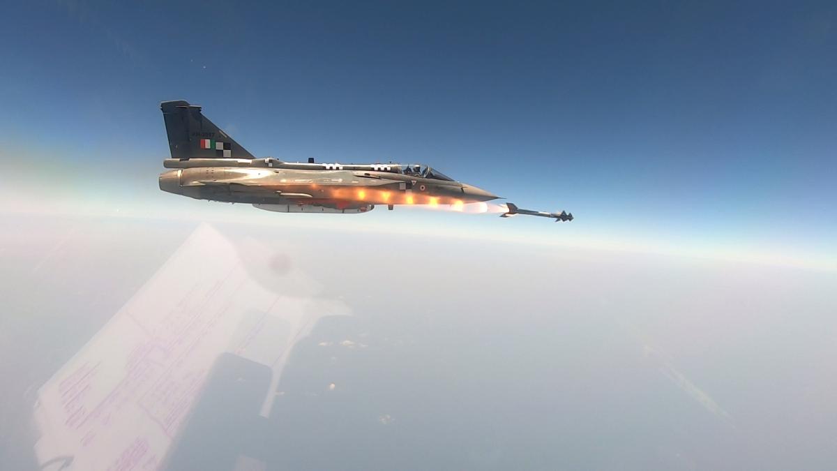 Inde : Le Tejas adopte le missile israélien Python 5