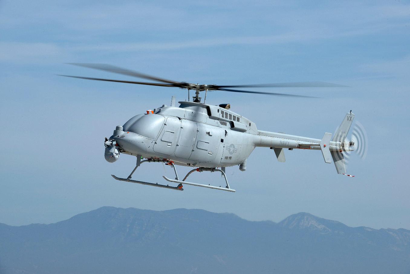 L'US Navy commande 10 Fire Scout MQ-8C