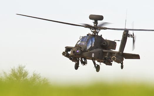 Une commande de 268 hélicoptères Apache pour Boeing