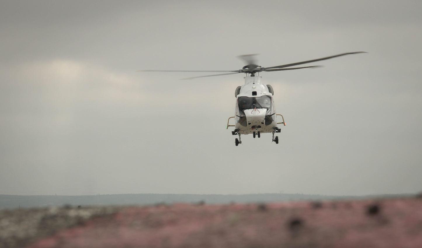 Un troisième H160 en vol