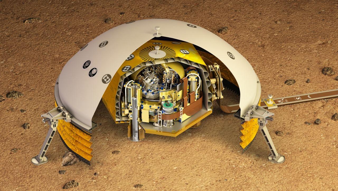 Des PME au service du sismomètre martien Seis