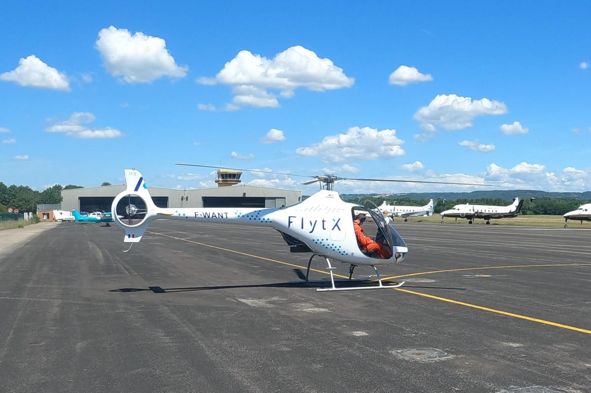 FlytX débute les essais en vol
