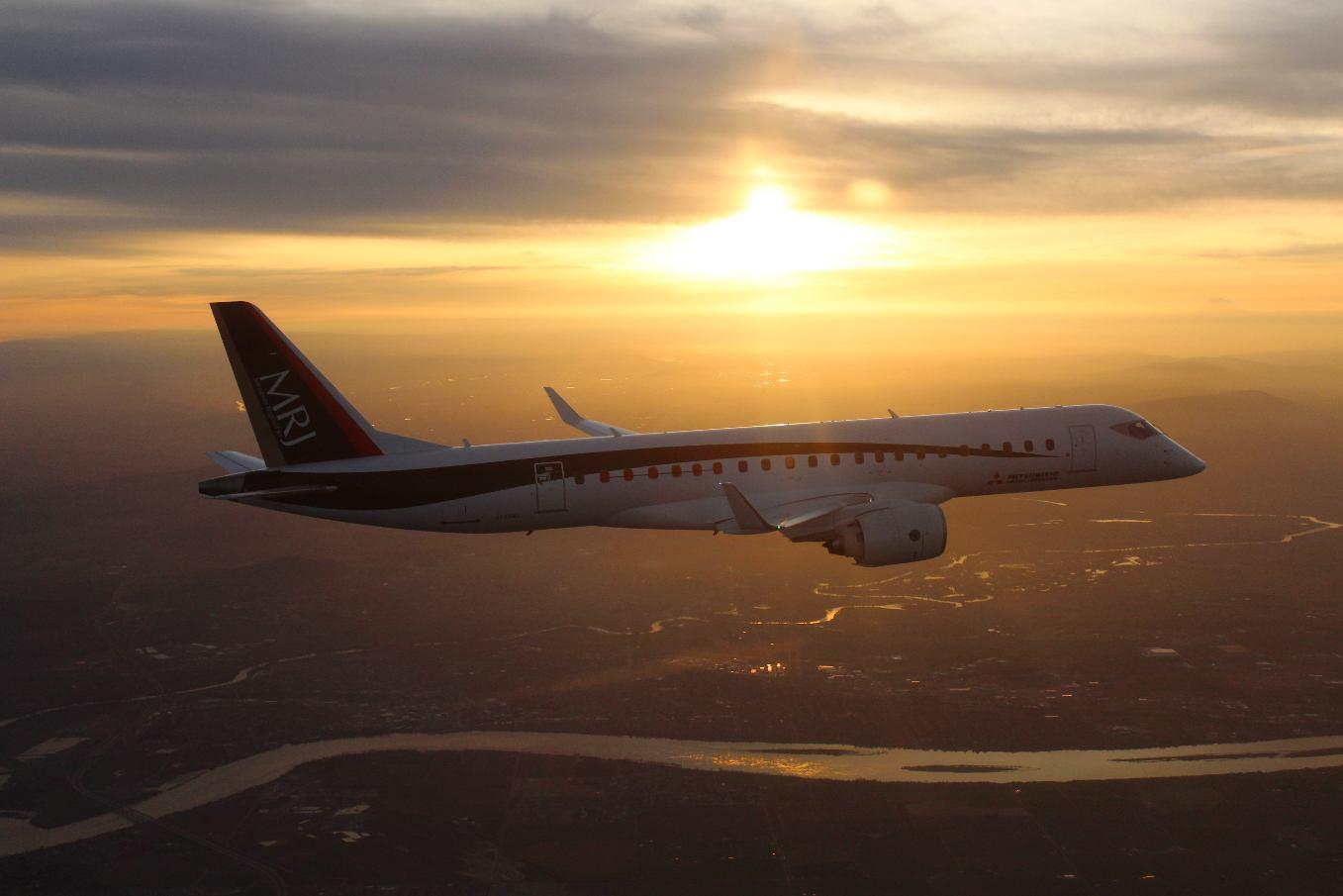 Le MRJ FTA-3 rejoint les Etats-Unis