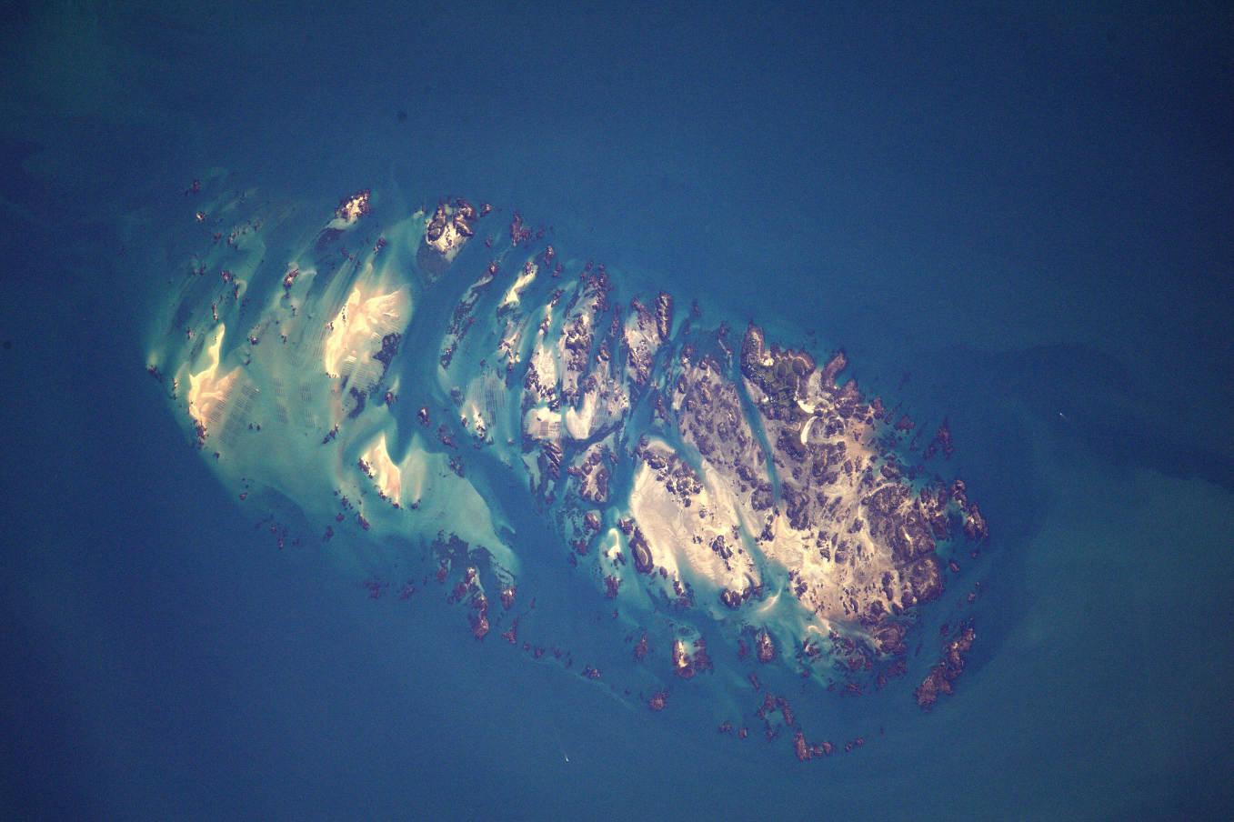 La Terre dans l'oeil de Thomas Pesquet #47 : les îles Chausey