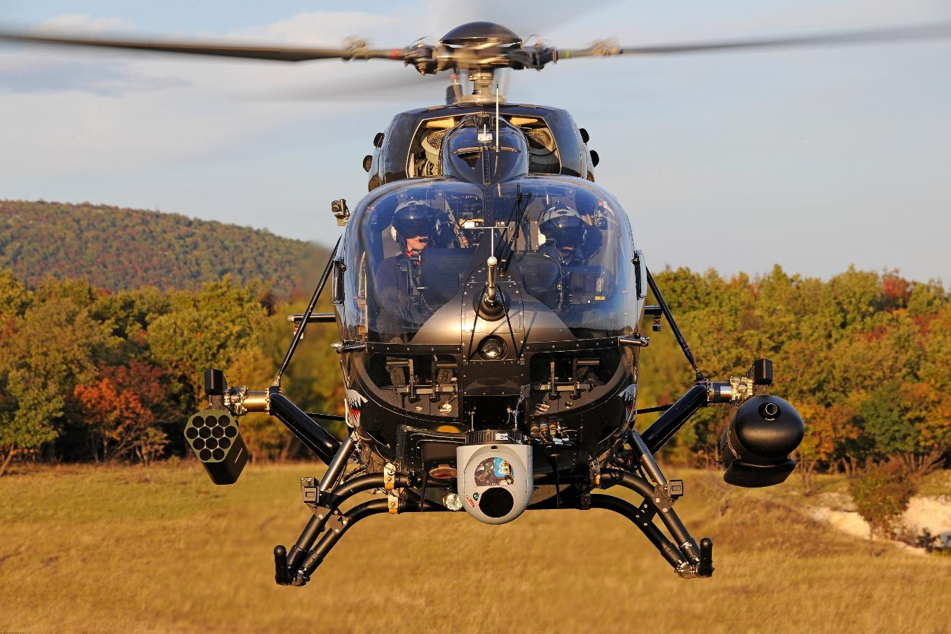 Des hélicoptères H145M pour la Hongrie