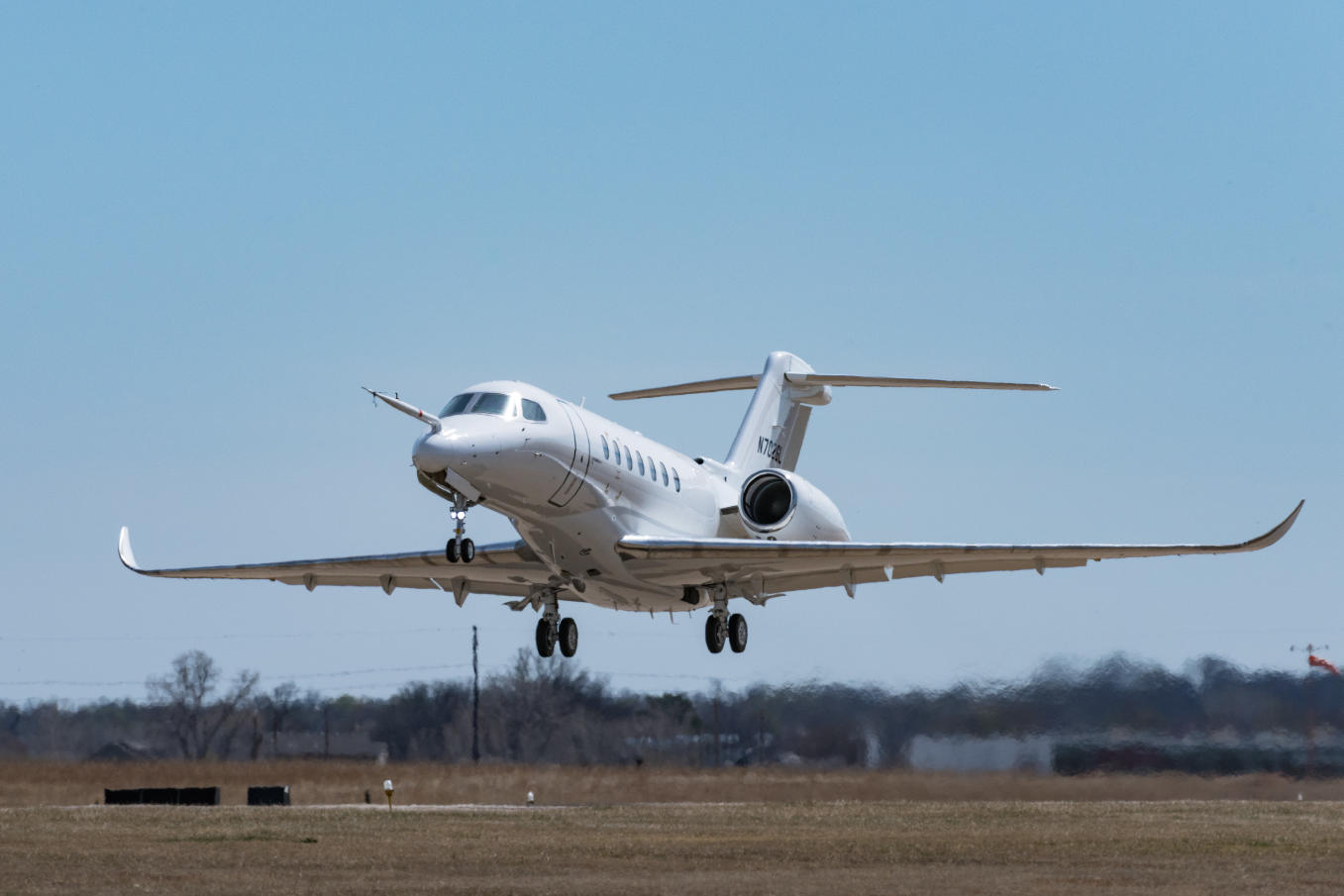 Le troisième Cessna Citation Longitude vole