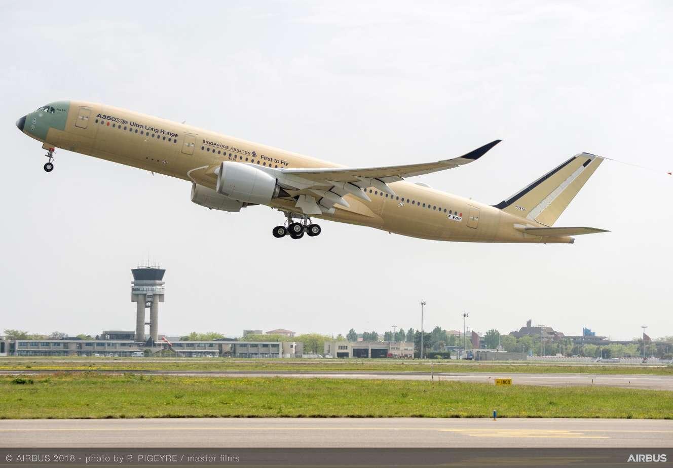 L'A350-900ULR commence sa campagne de vols tests