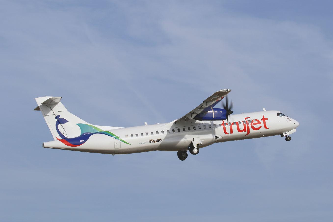L'indienne Trujet se met à l'ATR 72-600