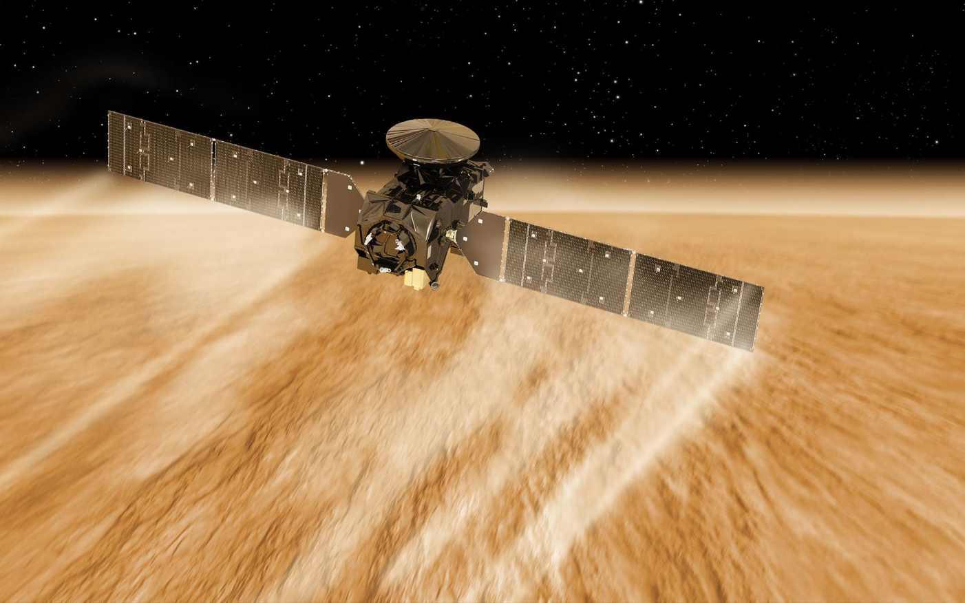 Fin de l'aérofreinage de TGO autour de Mars