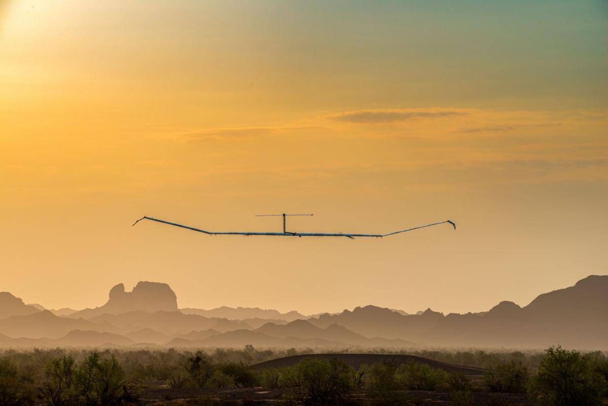 Nouveau record pour le drone Zephyr