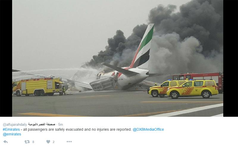 Accident d'Emirates : le trafic reste très perturbé à Dubaï