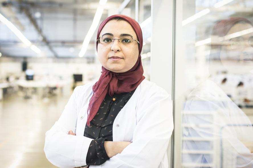 Zahira Bouaouda, présidente de Matis Aerospace