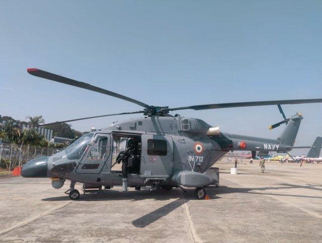 Inde : Premier escadron de Dhruv MK III pour la Marine